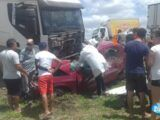 Grave acidente 4 pessoas morrem após colisão na BR 304 santa maria rn