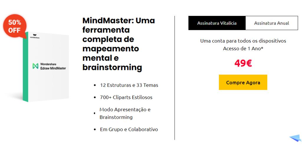 MindMaster uma ferramenta completa de mapeamento mental e brainstorming
