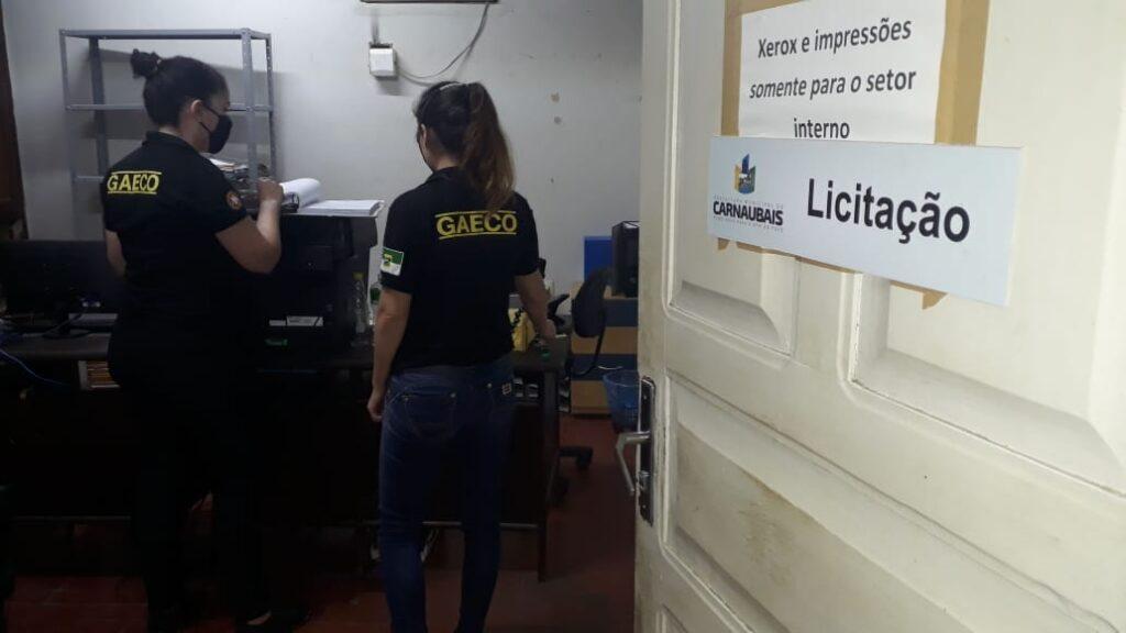 Operação do MP apura fraudes na Prefeitura de Carnaubais prefeito é afastado do cargo