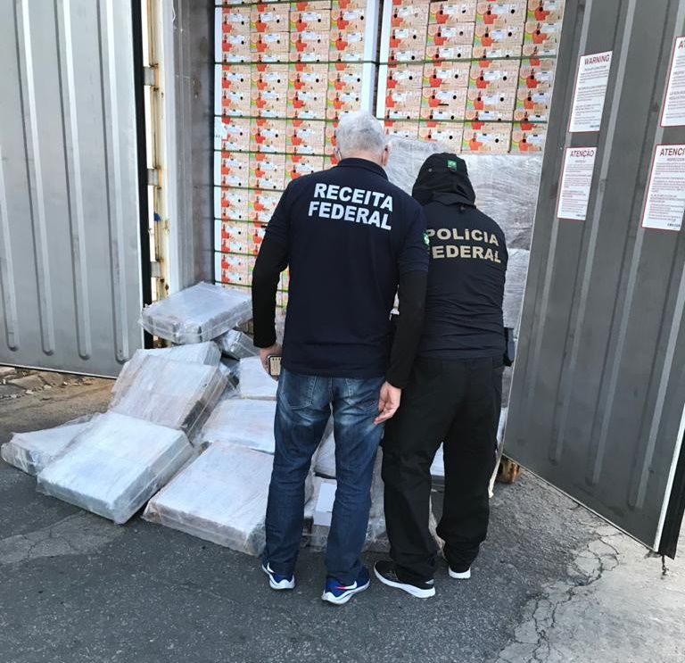 Polícia Federal apreende mais de 700 kg de cocaína no porto de Natal