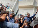 Sob gritos de mito Bolsonaro é recebido por multidão em Mossoró