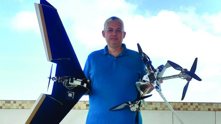 UFRN desenvolve nova tecnologia para drones