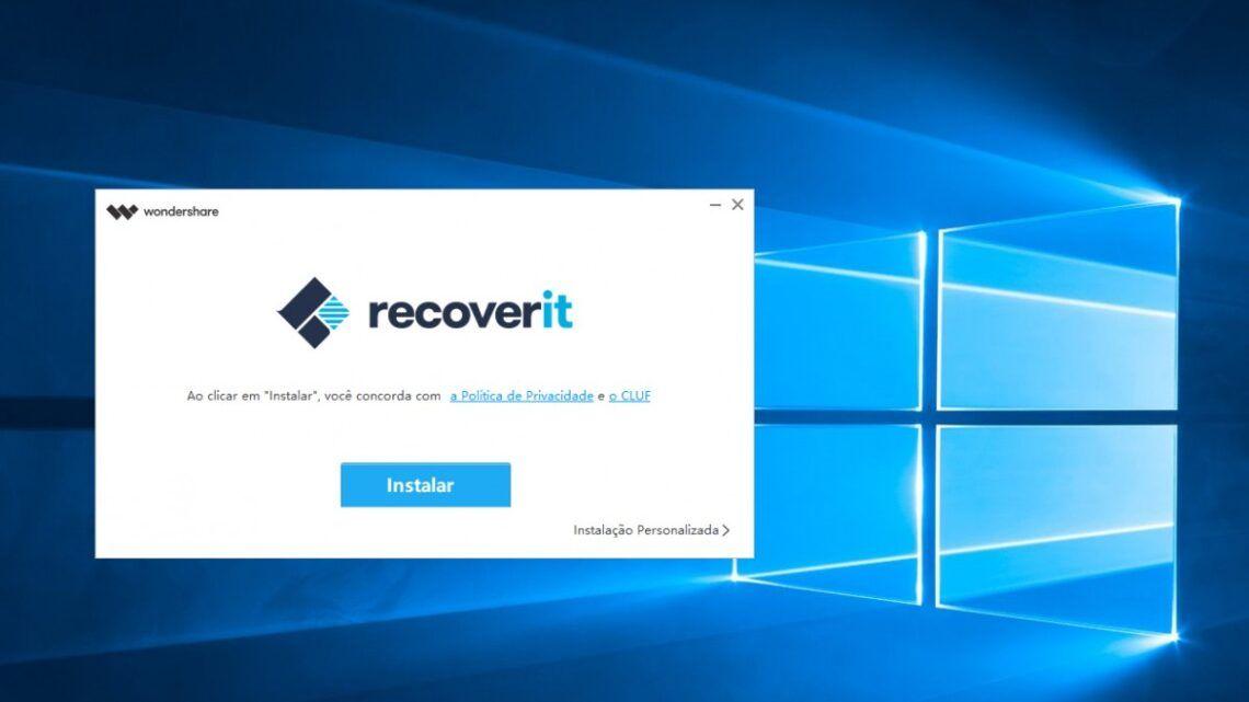 Recupere seus arquivos excluídos ou corrompidos com o Recoverit