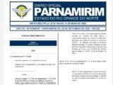 Rosano Taveira rebaixa gratificação Covid dos servidores de Parnamirim