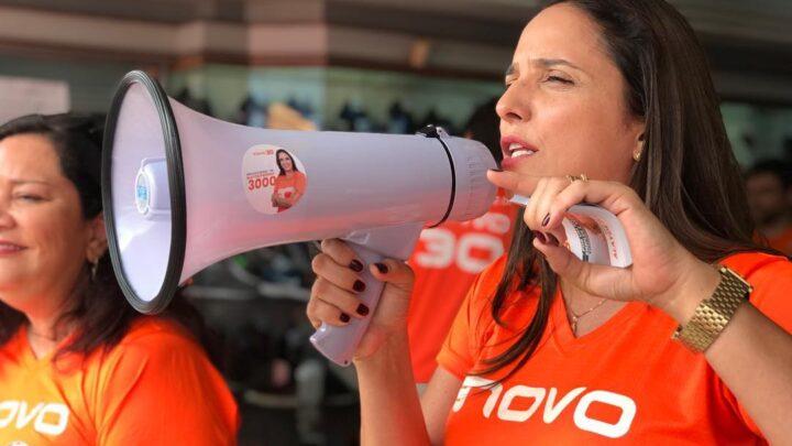 """Alayde Passaia defende """"Vale Educação"""" para famílias de baixa renda em Natal"""