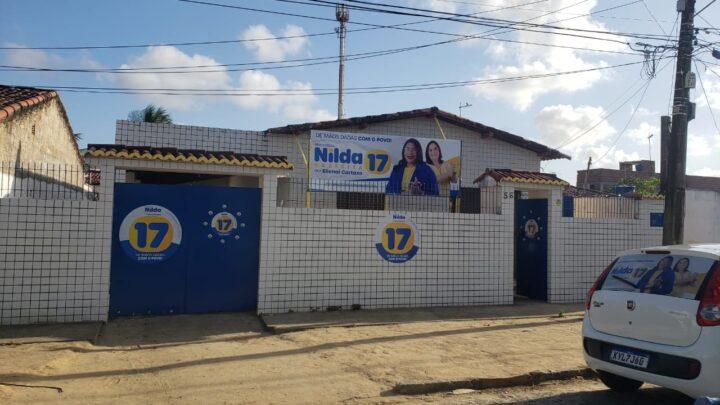 Comitê eleitoral de candidata a Prefeitura de Parnamirim sofre arrastão