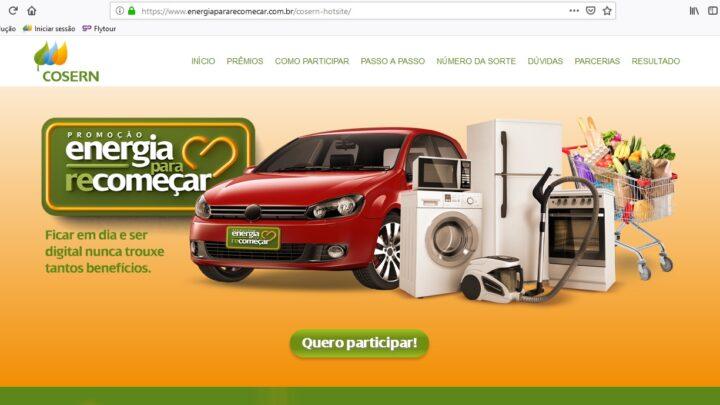 Cosern vai sortear R$ 100 mil em prêmios entre clientes com contas em dia