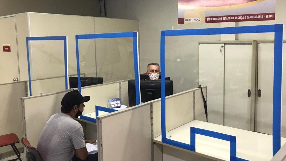 Detran inicia retomada gradual dos atendimentos de Junta Médica