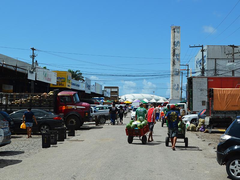 Mercados da Ceasa funcionarão em horário normal no feriado