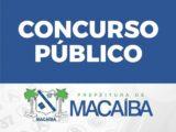Prefeitura de Macaíba publica ainda hoje edital de concurso com 631 vagas