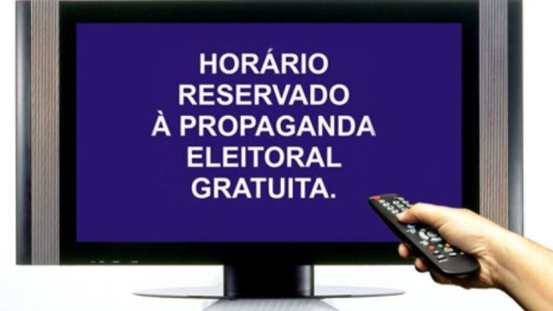 Propaganda eleitoral em rádio e TV começa nesta sexta-feira (9)