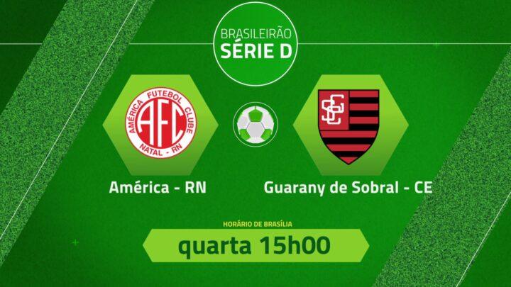 TV Brasil transmite América x Guarany de Sobral pela Série D