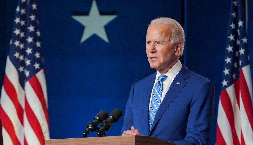 Joe Biden é eleito presidente dos Estados Unidos da América