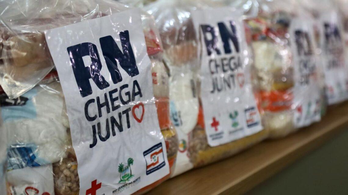 RN Chega Junto: segunda fase entrega mais 30 mil cestas básicas