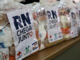 RN Chega Junto segunda fase entrega mais 30 mil cestas básicas