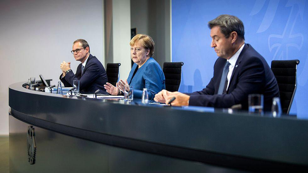Covid-19: 'Luz no fim do túnel está muito longe', diz Merkel