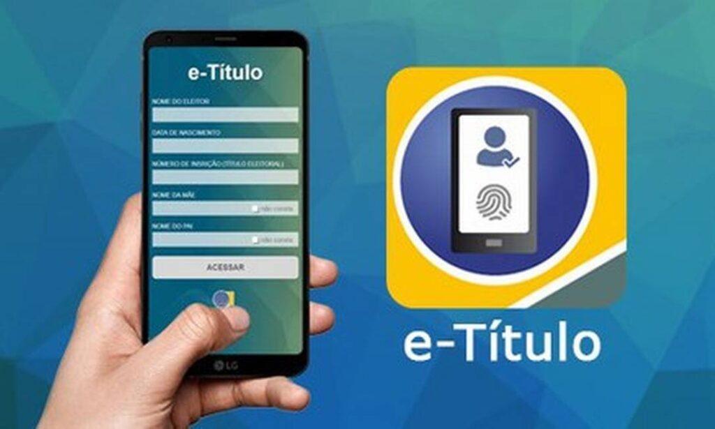 e-Título saiba como justificar voto pelo aplicativo no celular
