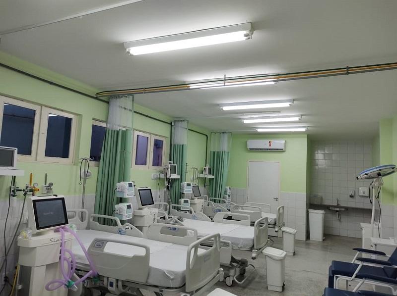 Governo amplia rede assistencial com abertura de 104 leitos Covid no RN
