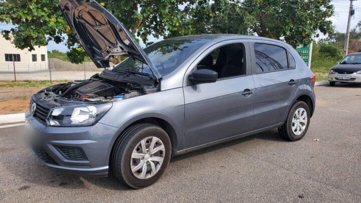 Homem é preso e veículo é recuperado pela PRF em São José de Mipibu