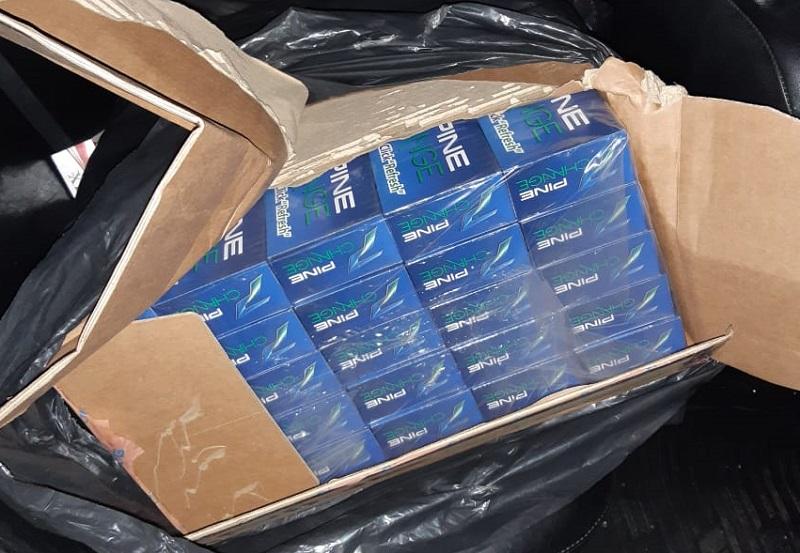 PM apreende carga de cigarros contrabandeados em São José de Mipibu