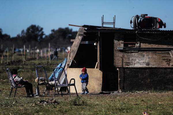 Pobreza na Argentina atinge mais de 44% da população