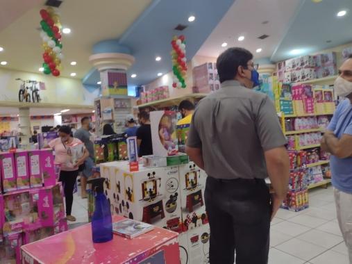 Procon notifica duas lojas do Midway Mall por descumprimento das normas contra Covid