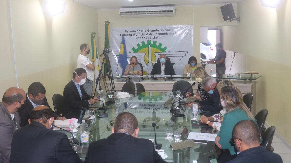 Vereadores de Parnamirim apresentam 95 emendas ao orçamento municipal 2021