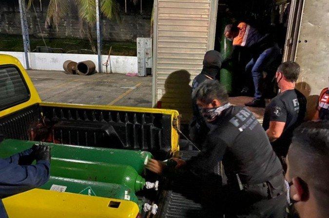 Empresário é preso em Manaus por esconder oxigênio para vender mais caro