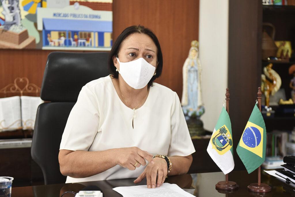 Fátima Bezerra anuncia 'toque de recolher' no RN
