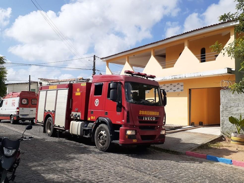 Idosa morre carbonizada durante incêndio na zona Norte de Natal