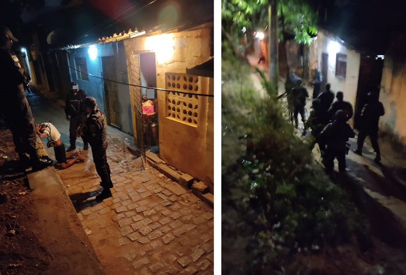 Polícia Militar resgata mulher na comunidade do Mosquito