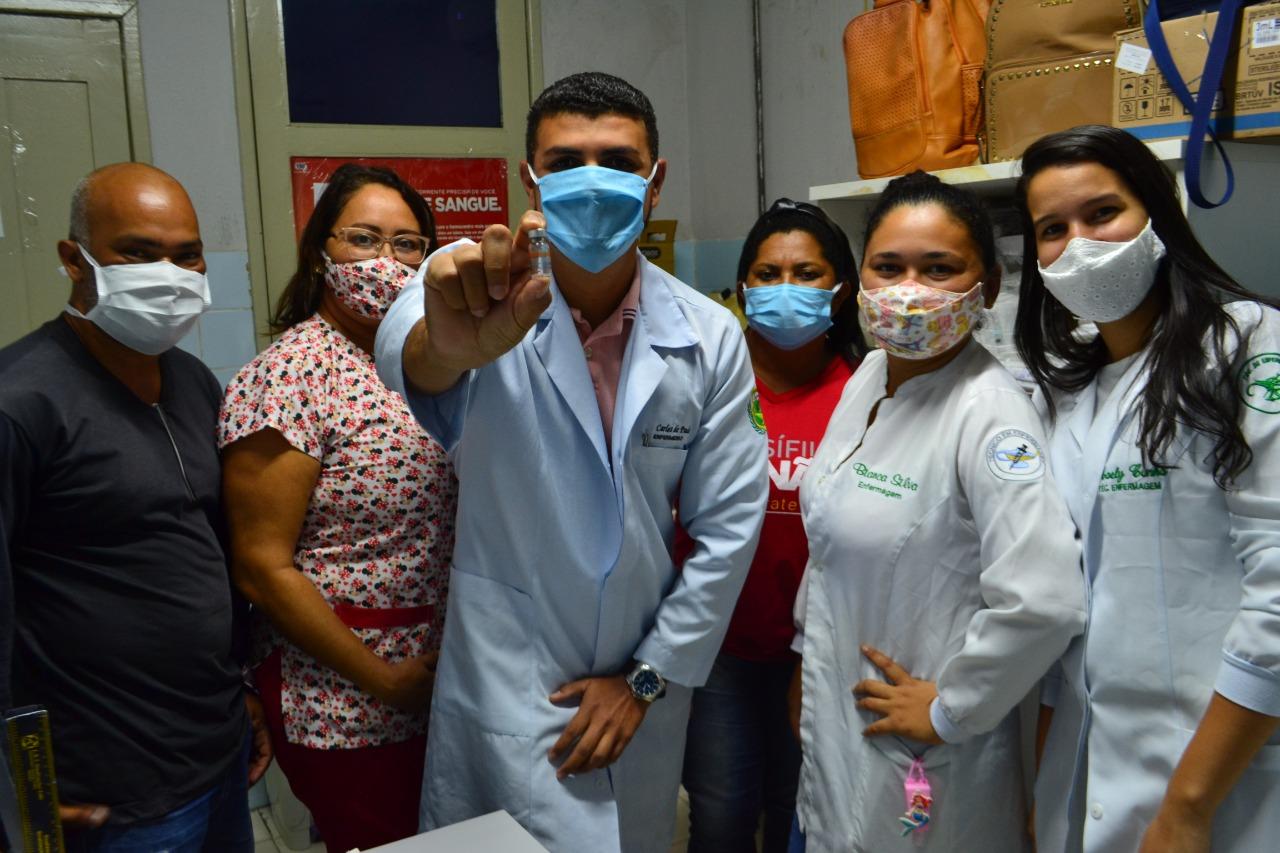 Posto da Maré em Macaíba recebe doses da vacina contra a Covid-19
