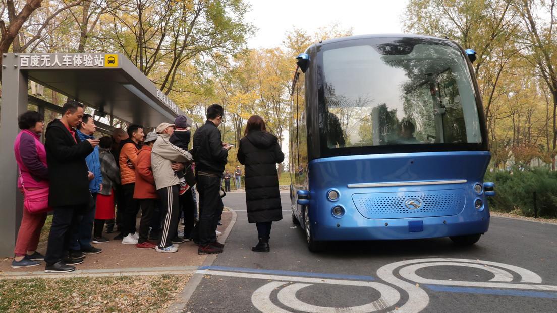 Apollo Ônibus elétrico autônomo já circula nas estradas da China