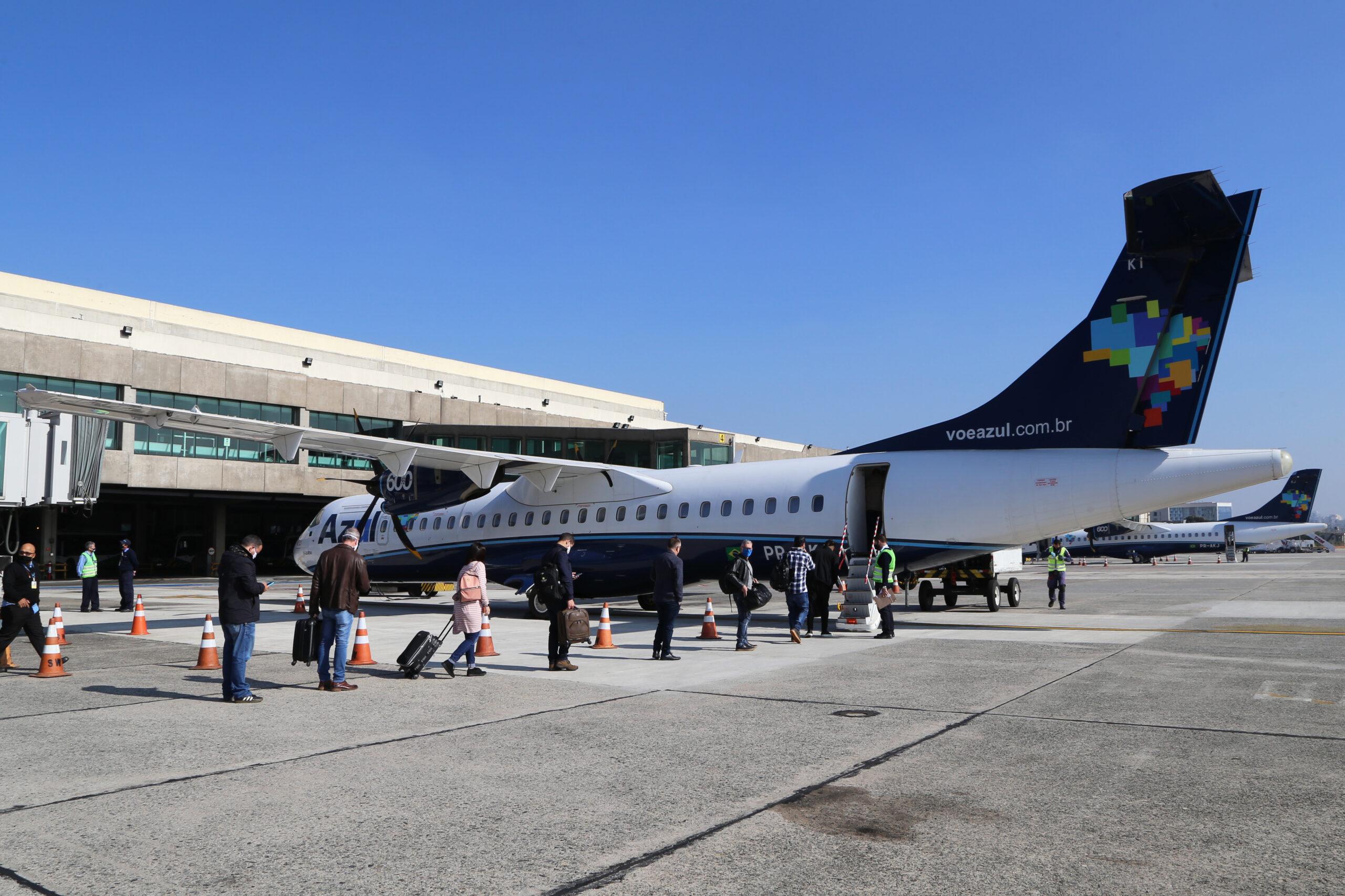 Azul volta a operacionalizar voo entre Mossoró e Recife