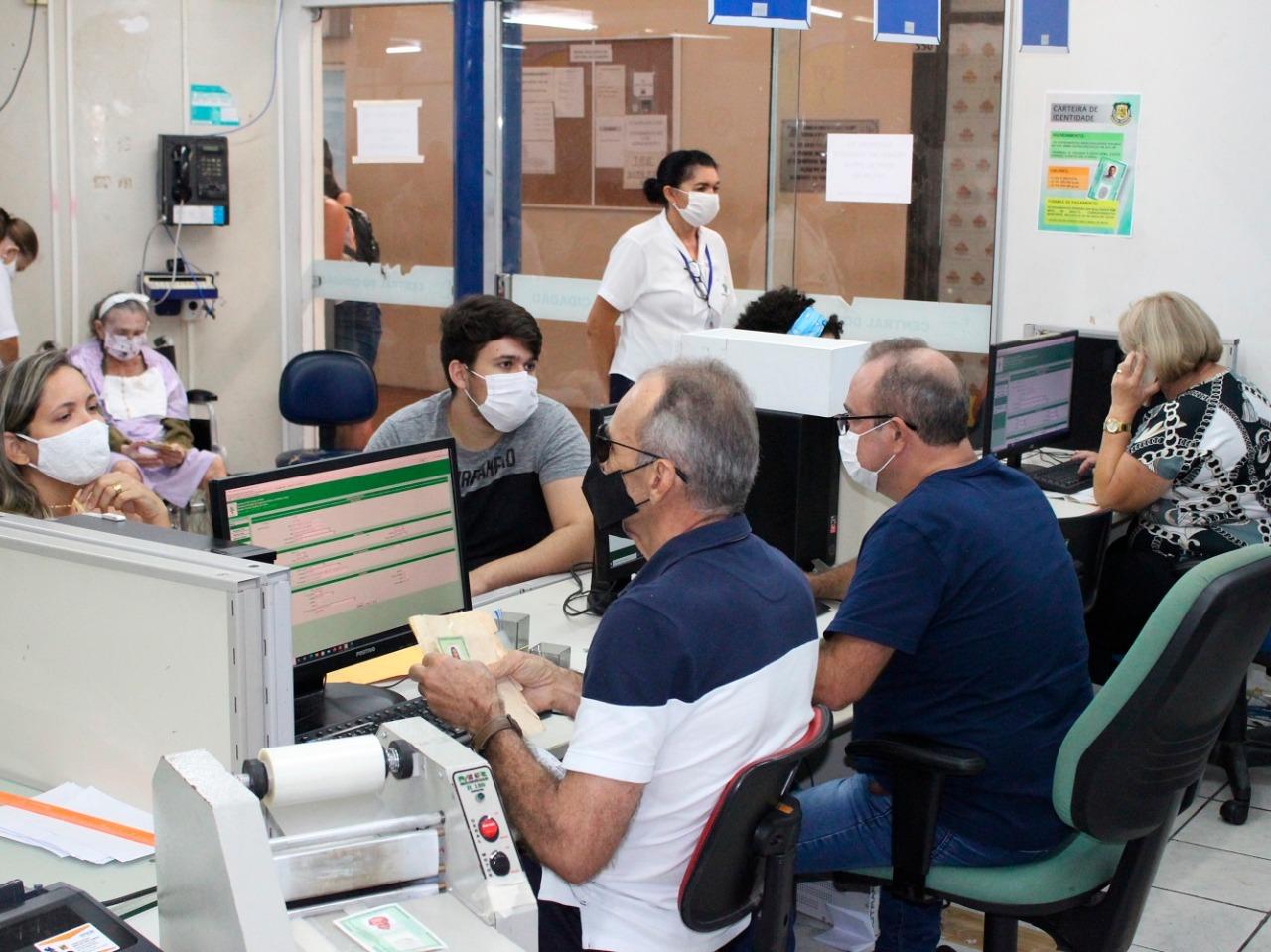 Centrais do Cidadão passam a funcionar das 9h às 20h em Natal