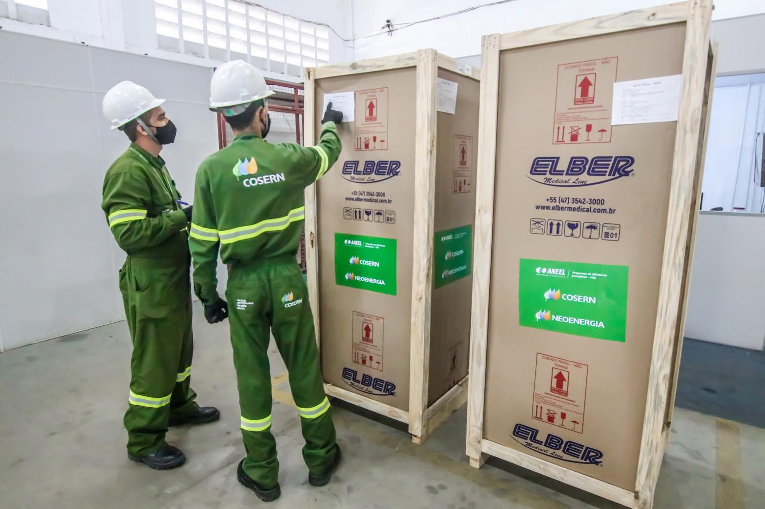 Cosern vai doar 97 refrigeradores para armazenamento de vacinas