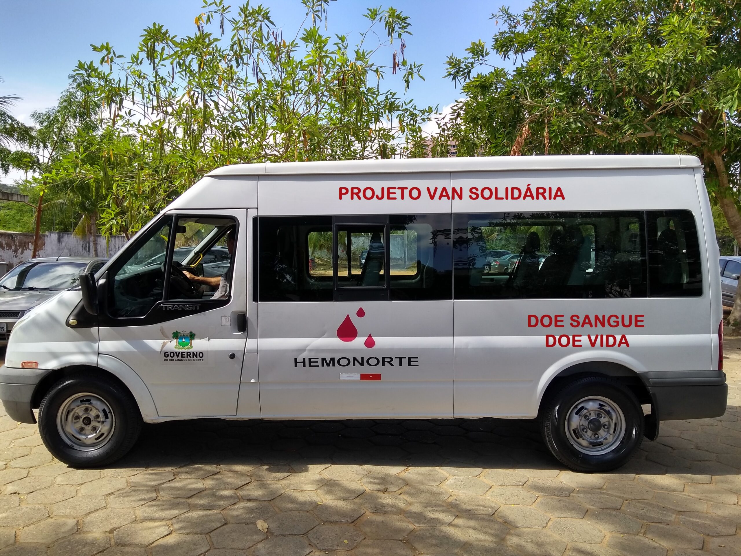"""Hemonorte lança a """"Van solidária"""" para a doação de sangue"""