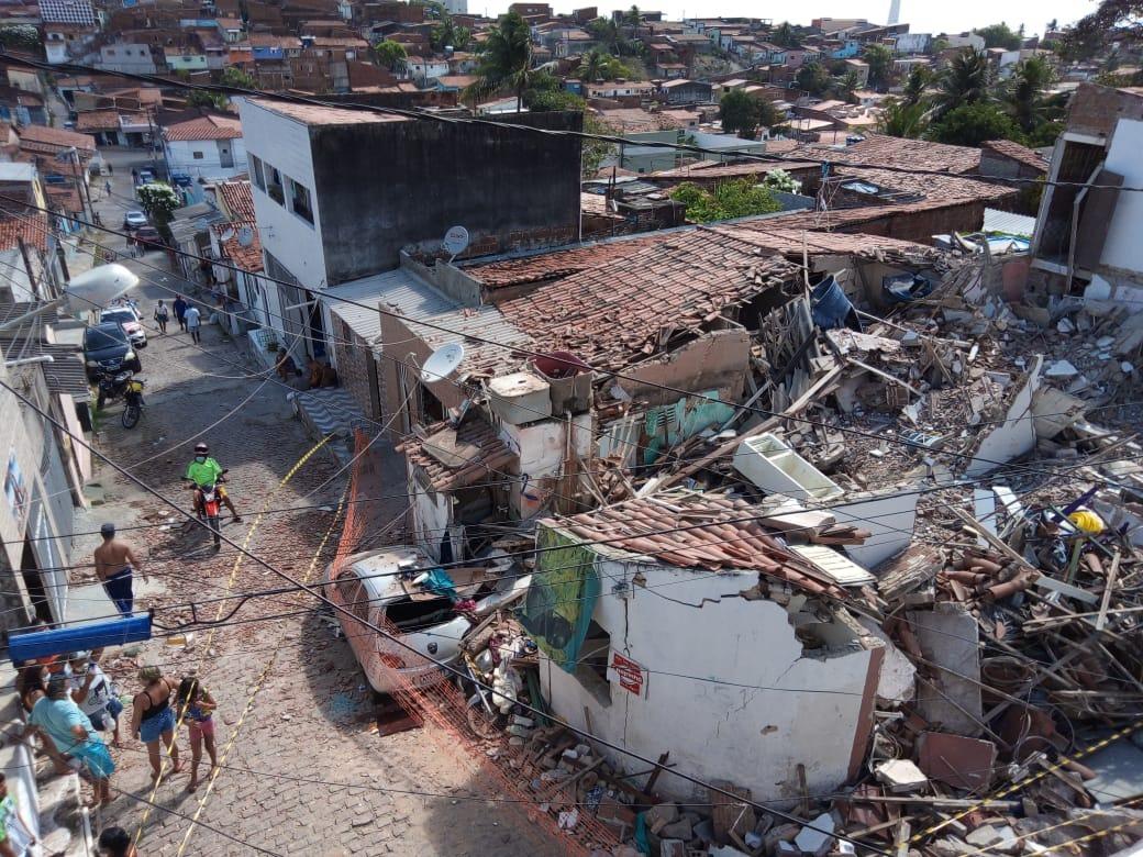 Itep confirma que vazamento de gás causou explosão em Mãe Luíza