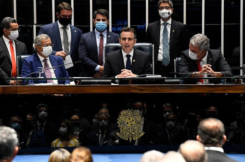 Rodrigo Pacheco, novo presidente do Senado, defende retorno do auxílio emergencial