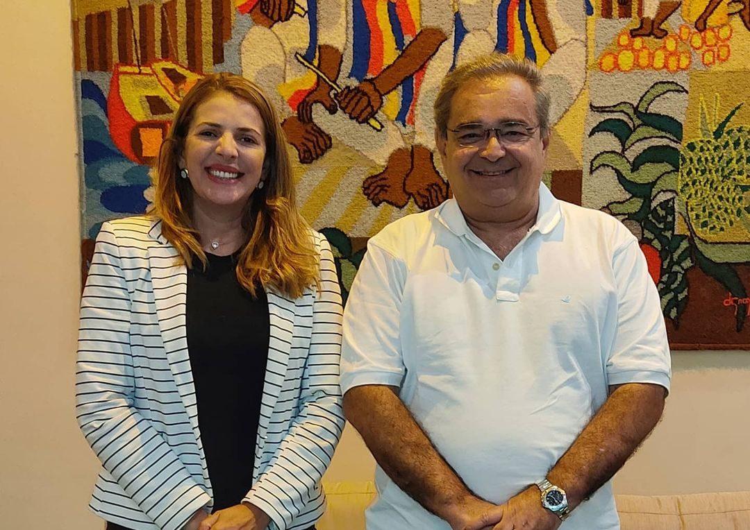 Vereadora Nina assume liderança de Álvaro Dias na Câmara