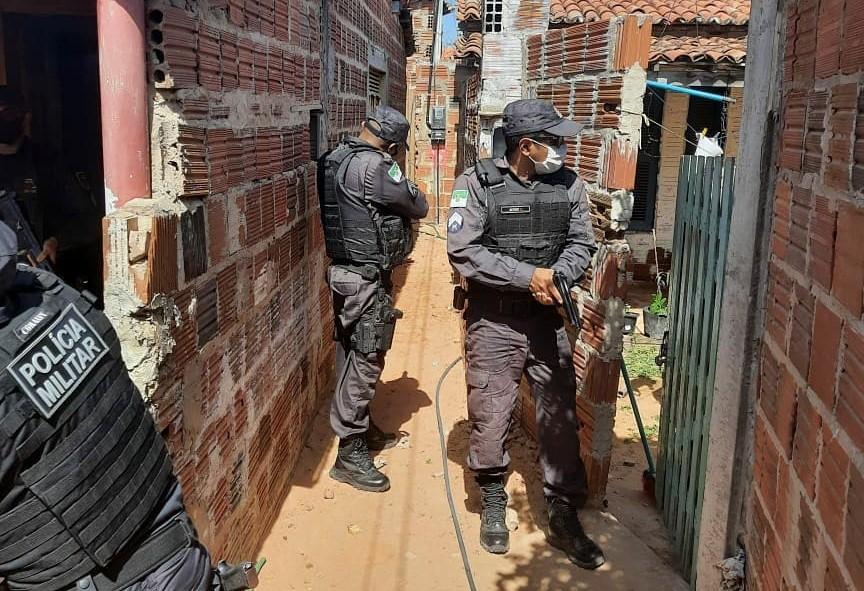 Com 158 prisões, forças de segurança realizam maior operação policial da história do RN