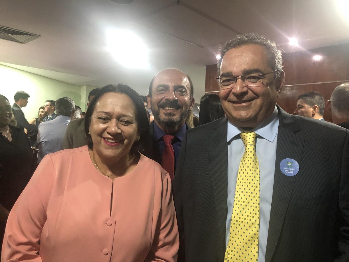 """Com divergências em decretos, Álvaro Dias e Fátima Bezerra são chamados para """"audiência de conciliação"""""""