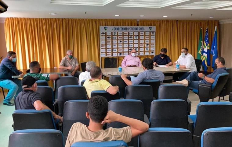 FNF anuncia cancelamento do Campeonato Potiguar 2021