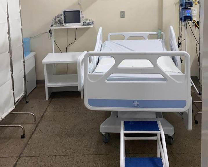 Governo amplia assistência hospitalar com mais 23 leitos Covid em Mossoró
