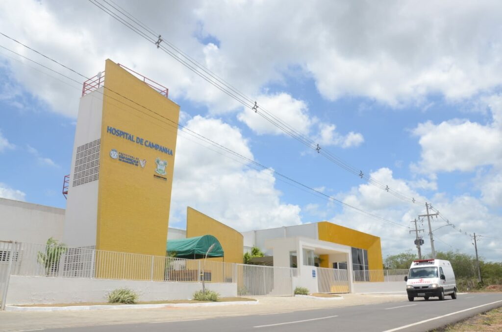Hospital de campanha de São Gonçalo do Amarante é reaberto com 20 leitos