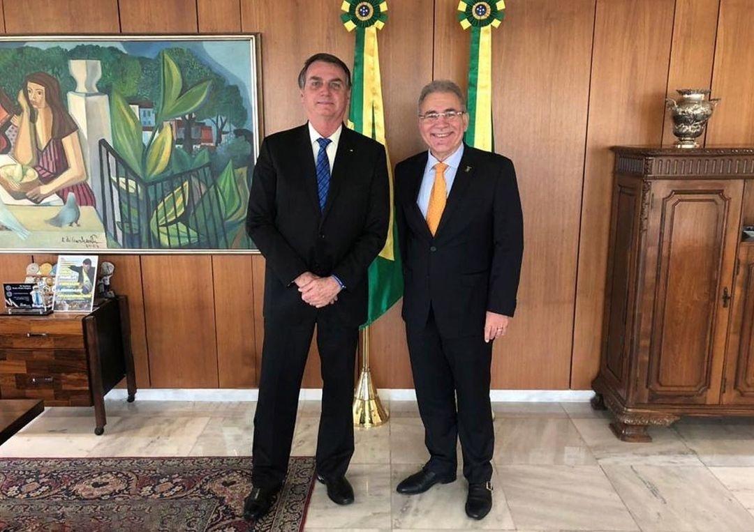 Marcelo Queiroga aceita convite de Bolsonaro e será novo ministro da Saúde