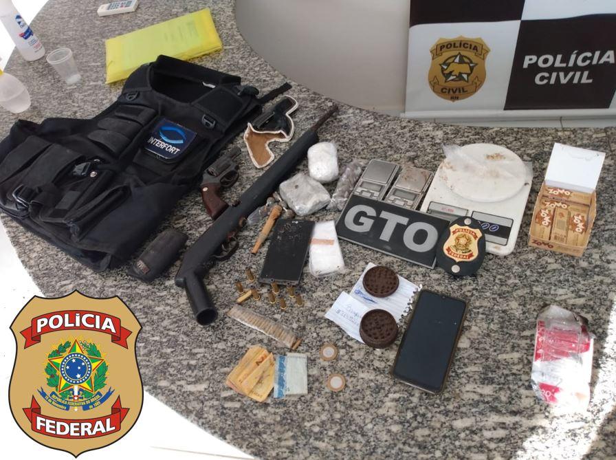 PF prende em Pau dos Ferros suspeito de integrar facção criminosa no RN