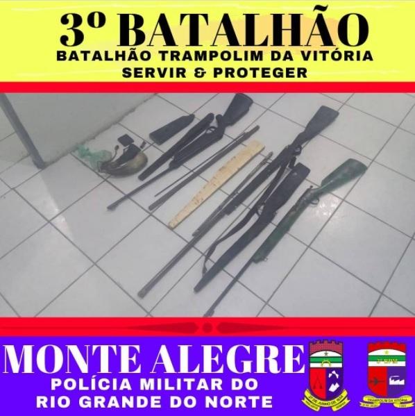 PM fecha fábrica clandestina de armas de fogo em Monte Alegre