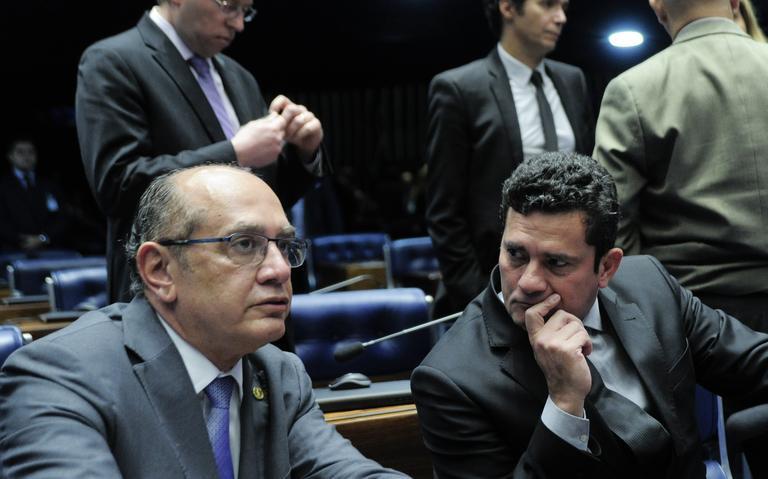 Gilmar Mendes pauta para hoje ação sobre suspeição de Moro