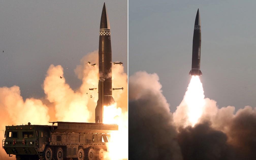 Coreia do Norte testa novo tipo de 'míssil tático guiado'